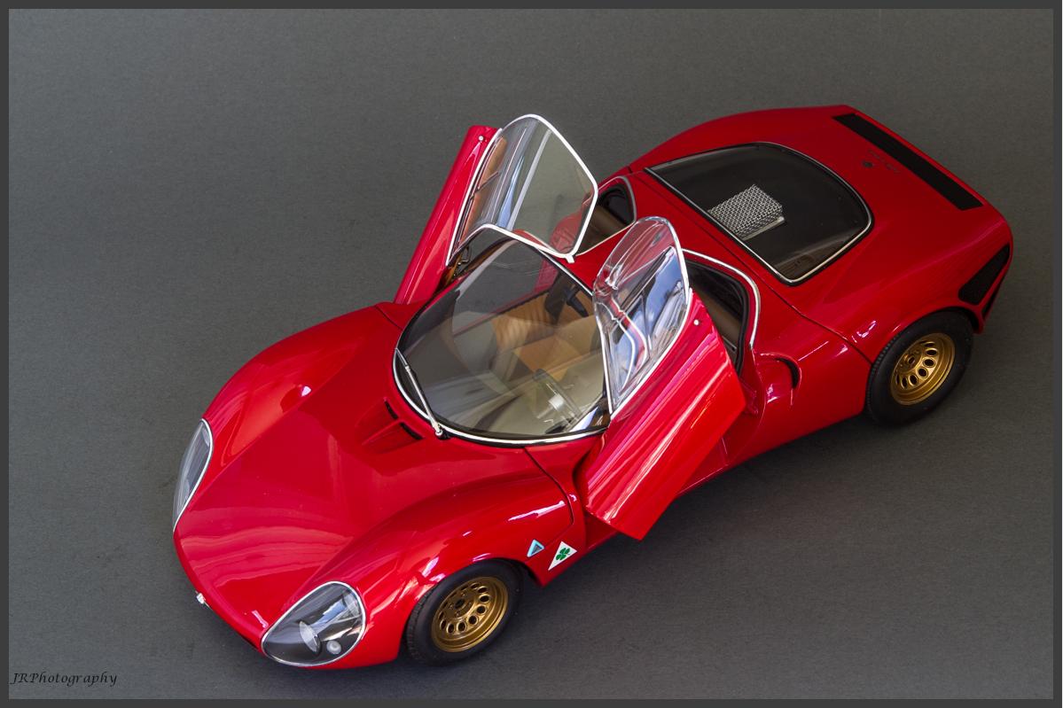 AutoArt Alfa Romeo Stradale Prototype DX Classic - Alfa romeo scale models